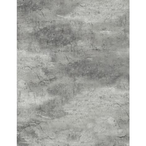 Wilmington Prints - Flannel - Cabin Welcome - Forest Texture Gray