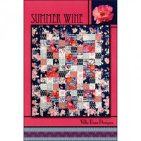 Villa Rosa Designs - Quilt Pattern - Summer Wine