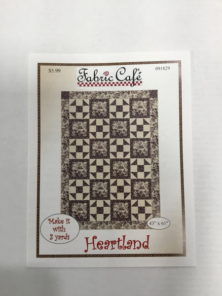 Fabric Cafe - Quilt Pattern - Heartland