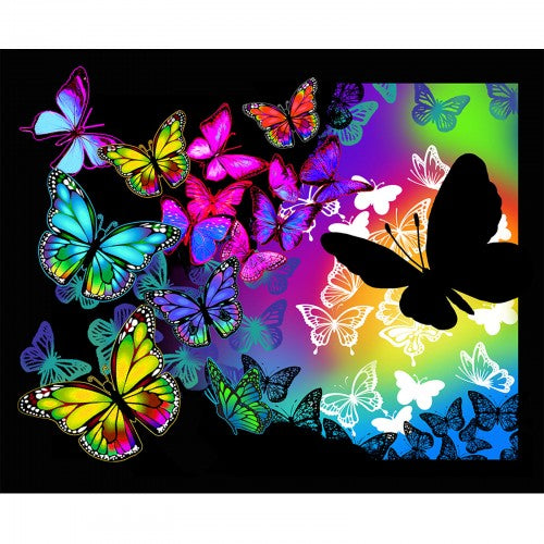 Print Concepts - Butterflies In Flight - Panel