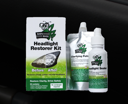How to restore and clean headlight lenses