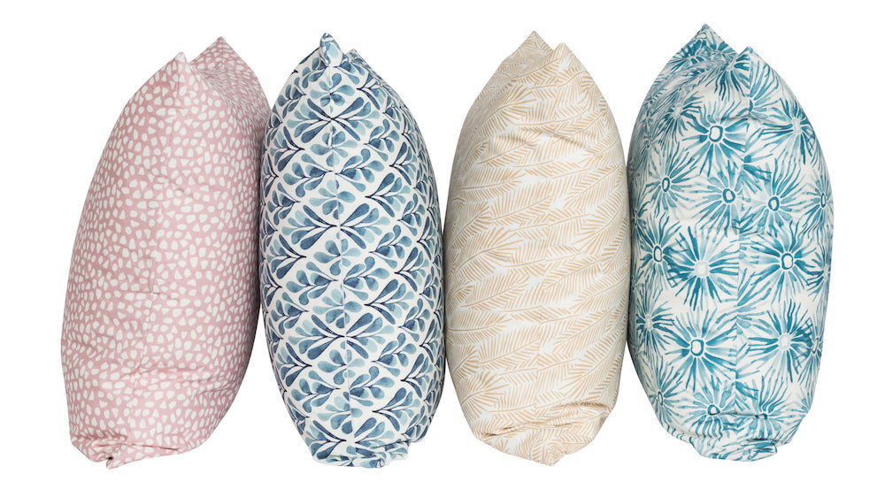 About the Ink Spiller Home cushion collection.