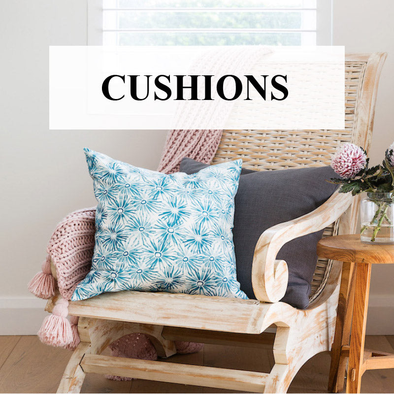 Buy Designer Cushions Online: Plump, Luxurious, Linen/cotton Australia