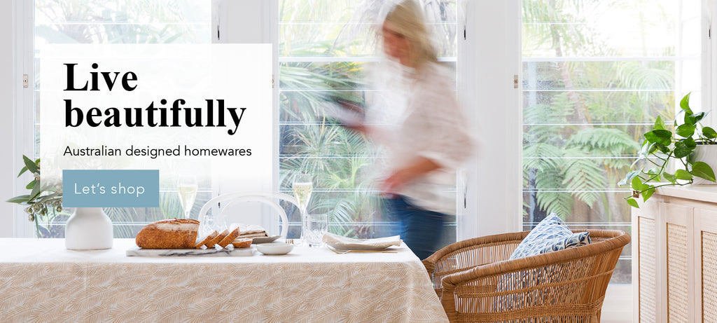 Live beatifully. Buy designer homewares online Australia - Ink Spiller Home
