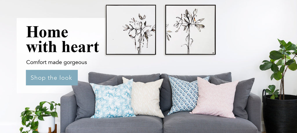 Home with heart - Buy Modern Linen Homewares Online Australia