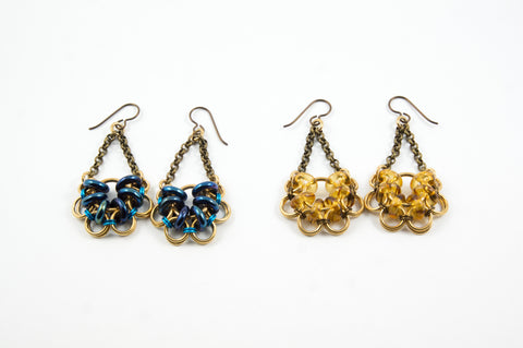 Akimbo Earrings (brass) - 30% off