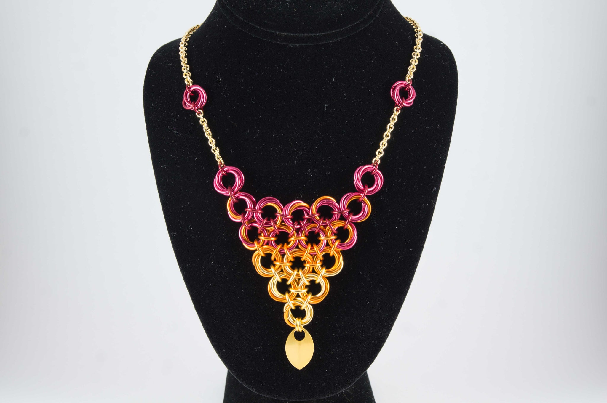 Knotted Triangle Necklace - 30% off