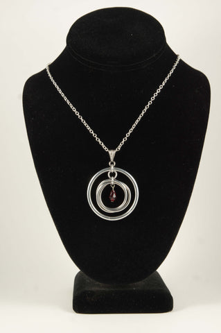 Mobius Drop Necklace - 30% off