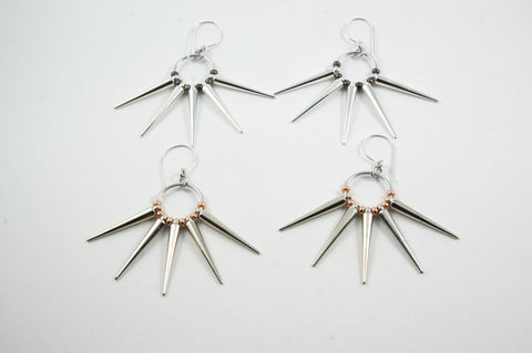 Punky Spikes Earrings