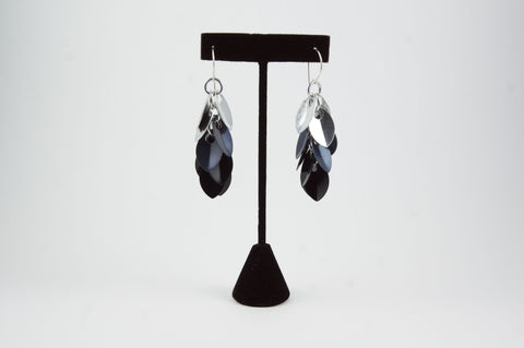 Shaggy Scales Earrings (light fade) - 30% off