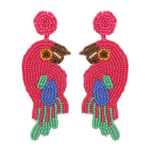 Load image into Gallery viewer, Birds of Paradise Earrings