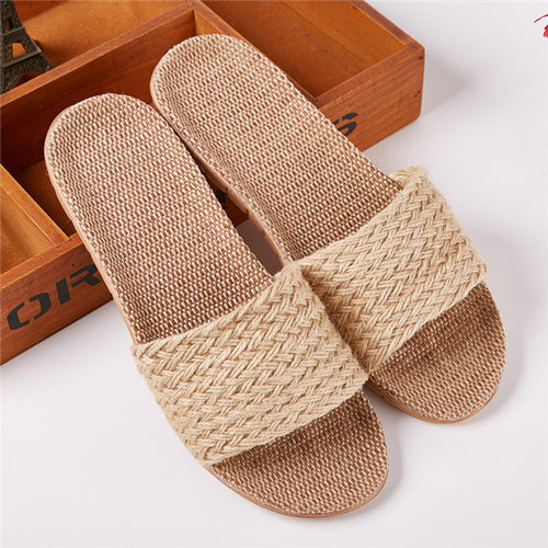 Bohemian Sandals Slip On Push Indoors