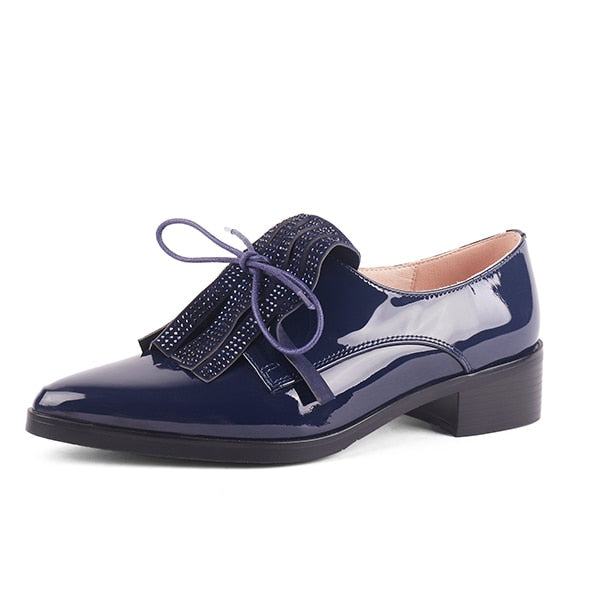 Preppy Professional Shoes with Fringe