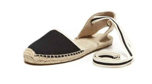 flat espadrille shoes