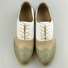 Load image into Gallery viewer, Vintage Oxford Loafers --- Exclusive Handmade Shoes