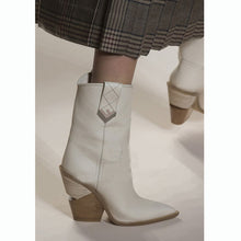 Load image into Gallery viewer, White Boots Stylish Booty Winter Shoes Party Booties