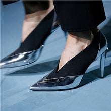 Load image into Gallery viewer, Stylish Pointy Toe Pump Shoes