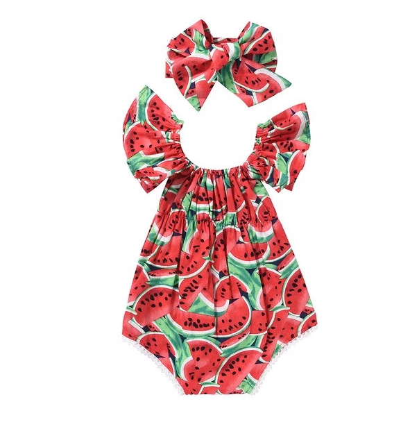 Baby Girls Glamour Romper Set - 4LAUNT.COM