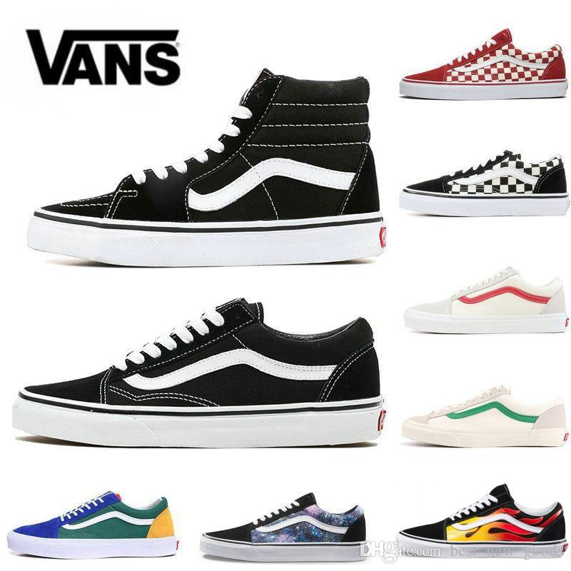2020 VANS Old Skool Designer Canvas Sneakers - 4LAUNT.COM