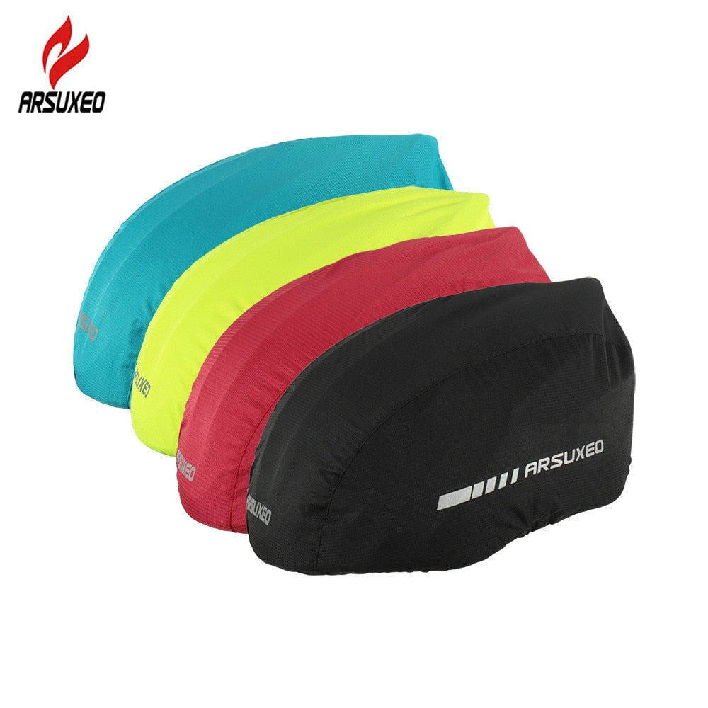 Reflective Waterproof Rain Protector Cycling Helmet Cover - 4LAUNT.COM