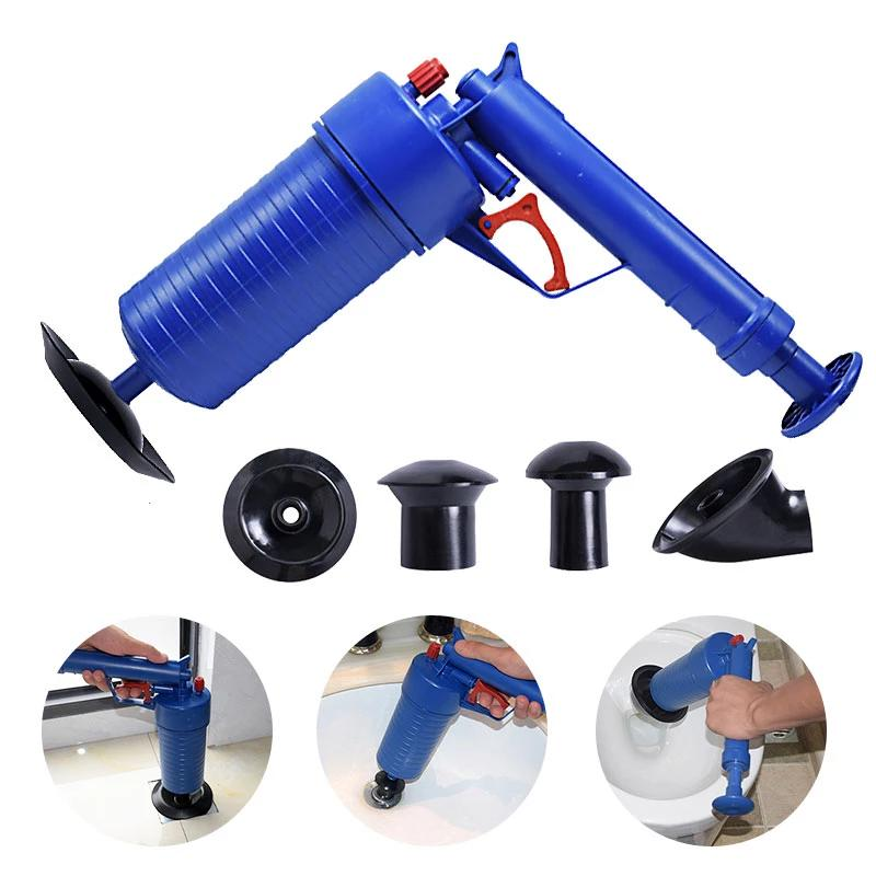 High Pressure Air Powered Drain Blaster Gun - 4LAUNT.COM