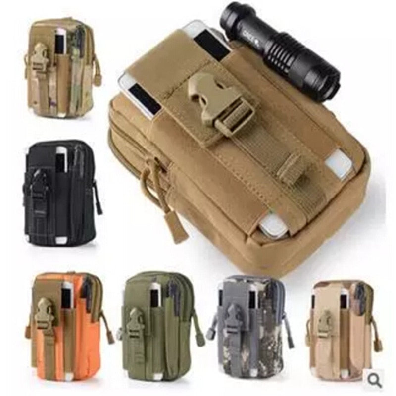 Tactical Military Outdoor Belt Waist Bag - 4LAUNT.COM