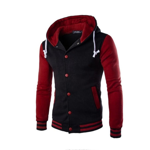 Masculine Men's Cotton Blended Street Jacket - 4LAUNT.COM