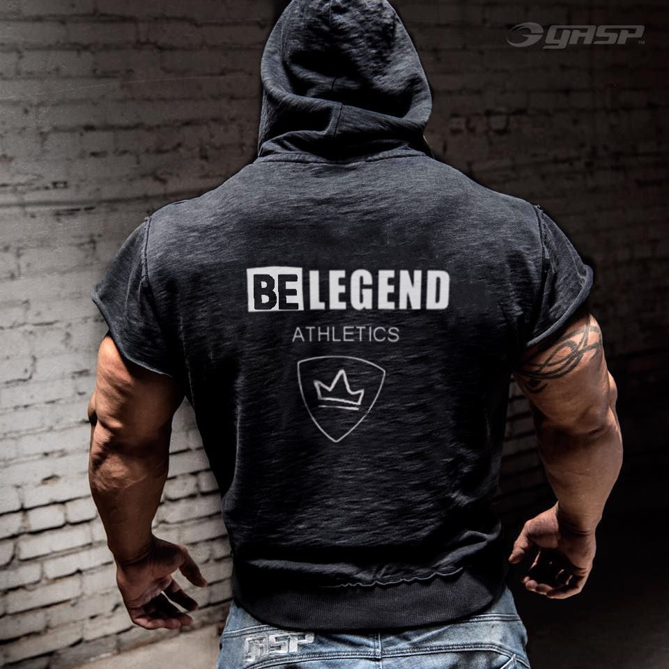 Hot New Bodybuilding Sleeveless Hoodie - 4LAUNT.COM