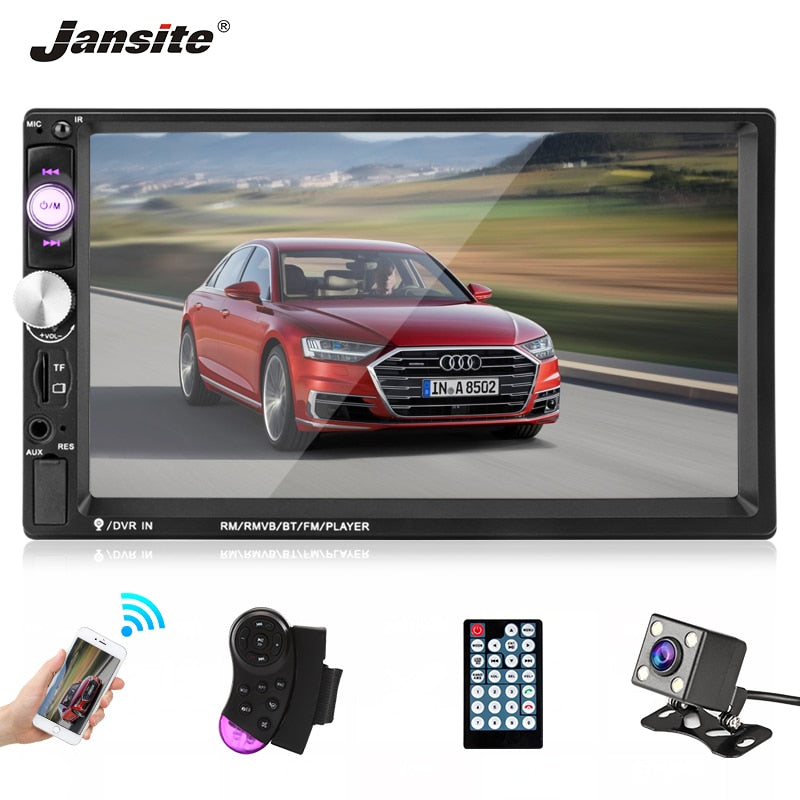 "7"" 1080P FHD Car Multimedia System - 4LAUNT.COM"