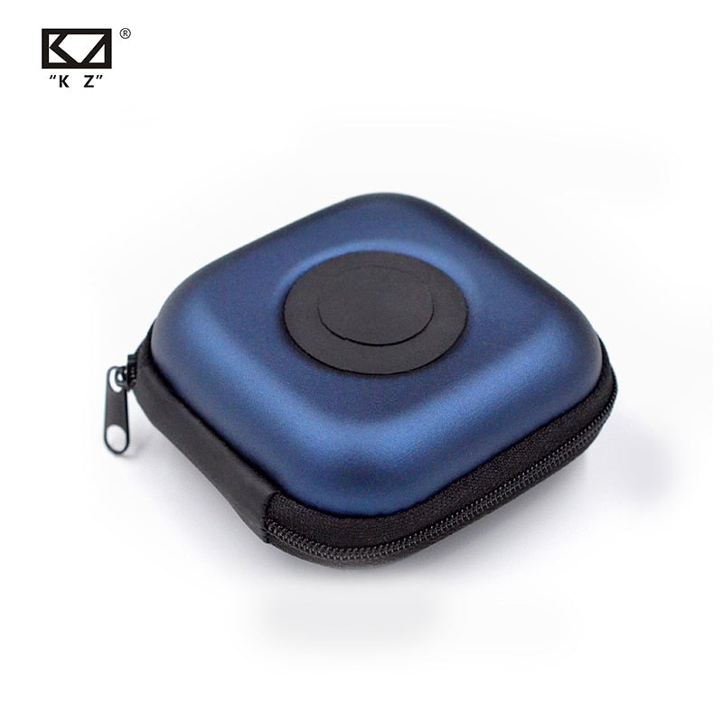Original KZ PU Portable Shock Absorption Earphone Case - 4LAUNT.COM
