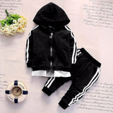 Quality Toddler Unisex Zipper Tracksuit Set - 4LAUNT.COM