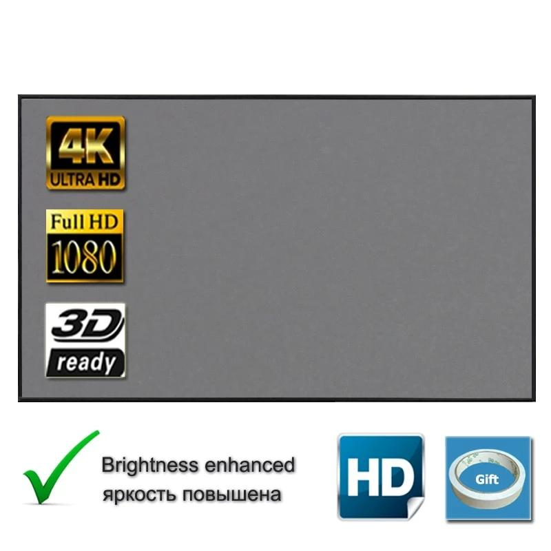 Projection Screen With Enhance Brightness - 4LAUNT.COM