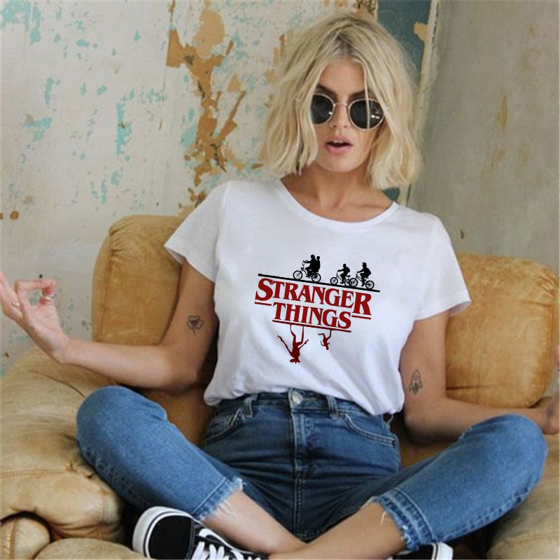 Women's Stranger Things T Shirt - 4LAUNT.COM