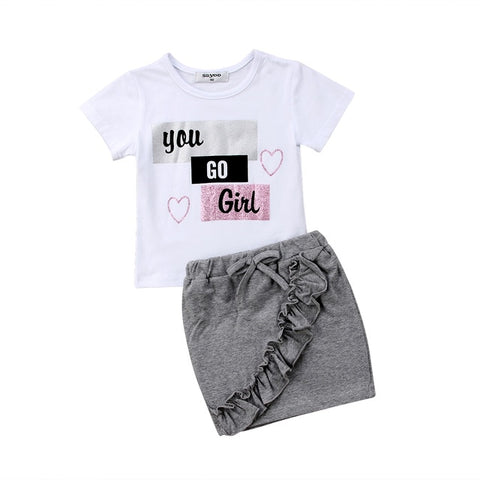 2019 Girl's Summer Fashion Set - 4LAUNT.COM