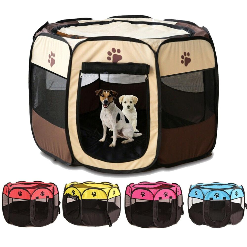 Portable Pet Kennel & Fence For Small & Large Pets - 4LAUNT.COM