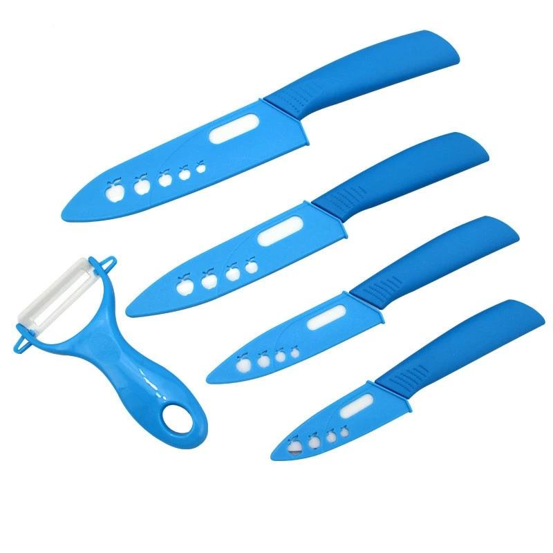 Chef's Ceramic 3 4 5 6 inch Kitchen Knife Set - 4LAUNT.COM