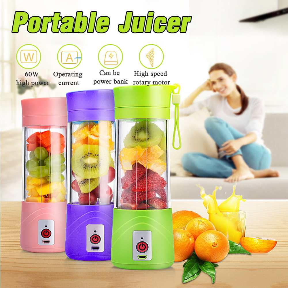 Electric Portable USB Smoothie & Blender - 4LAUNT.COM