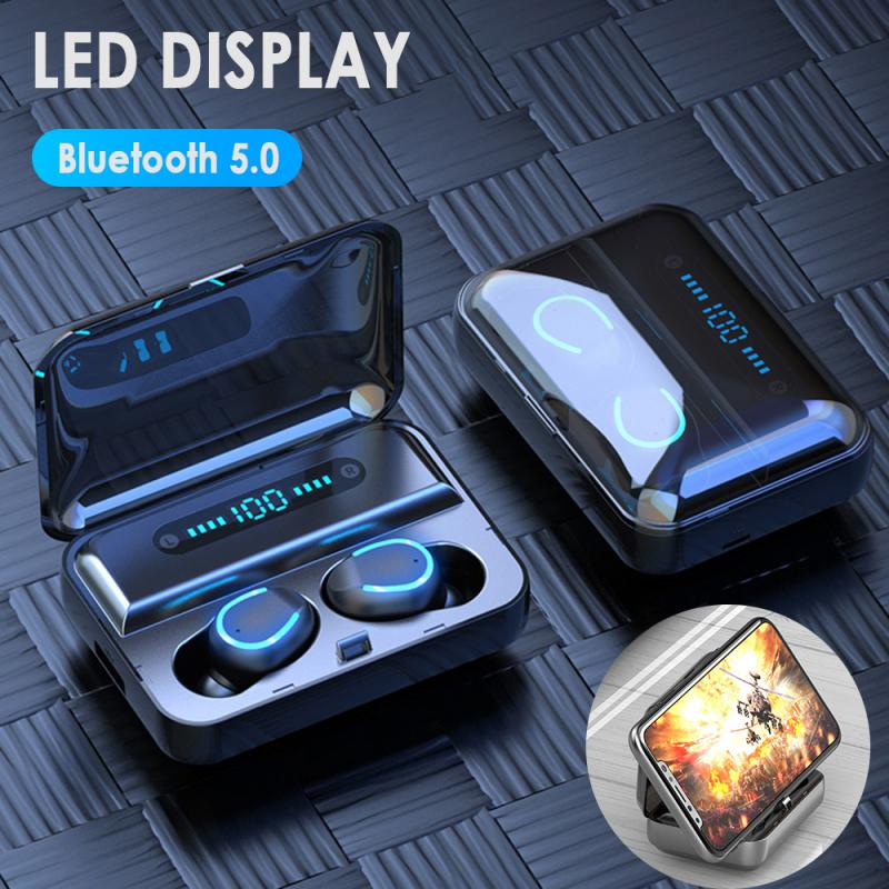 TWS Bluetooth 5.0 Wireless Touch Control Earphones - 4LAUNT.COM