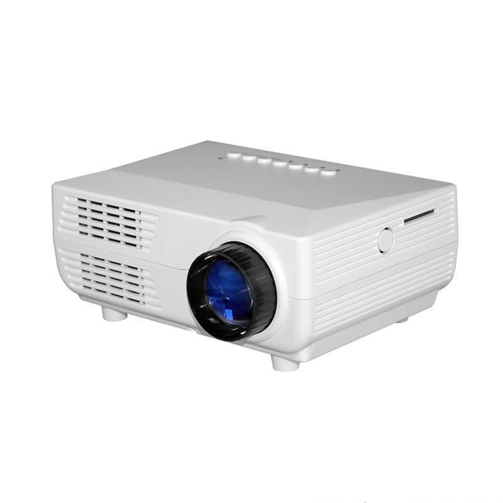 1080P HD LED Mini Home Cinema Projector with Screen - 4LAUNT.COM