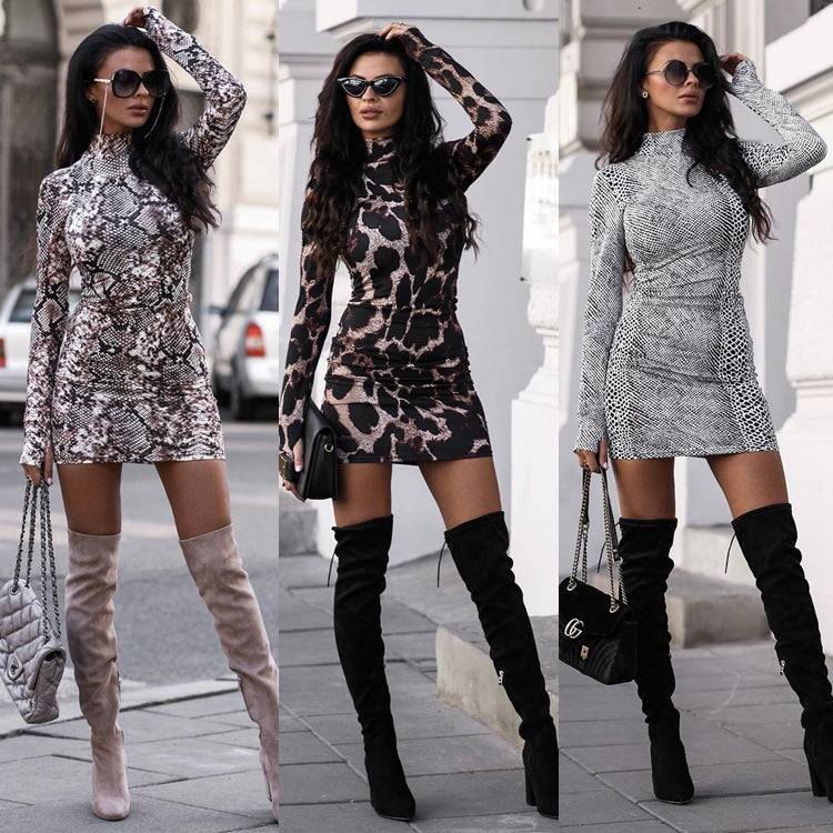 New Arrival Women's Long Sleeved Bodycon Dress - 4LAUNT.COM
