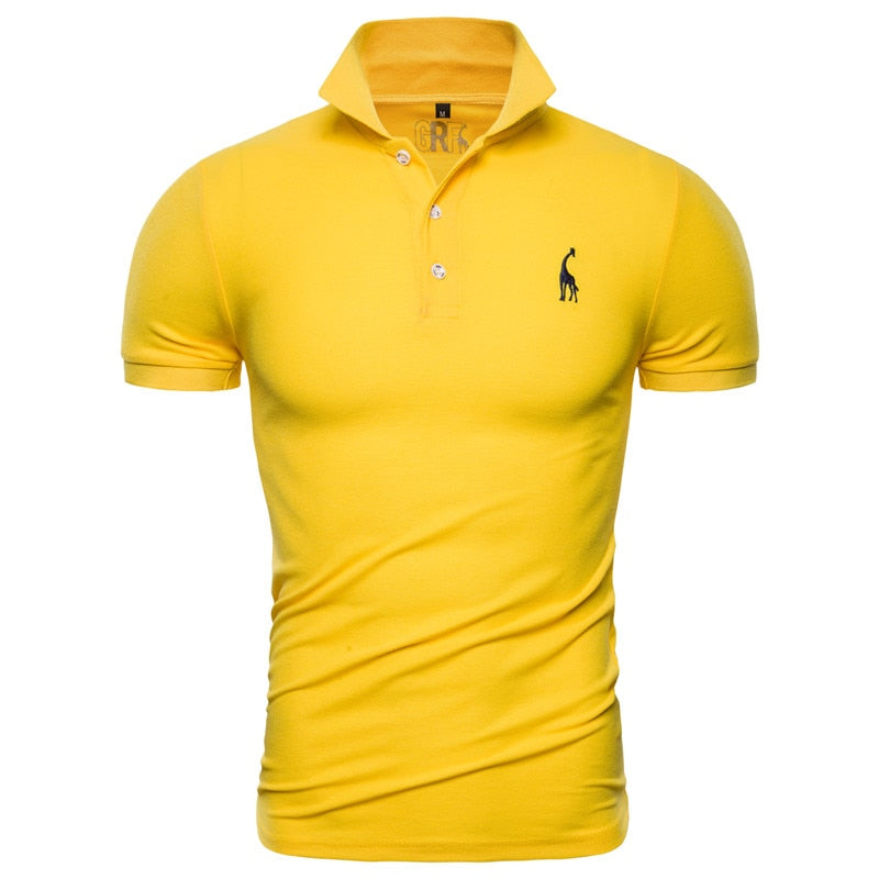 New Men's Slim Fit Polo Shirt - 4LAUNT.COM