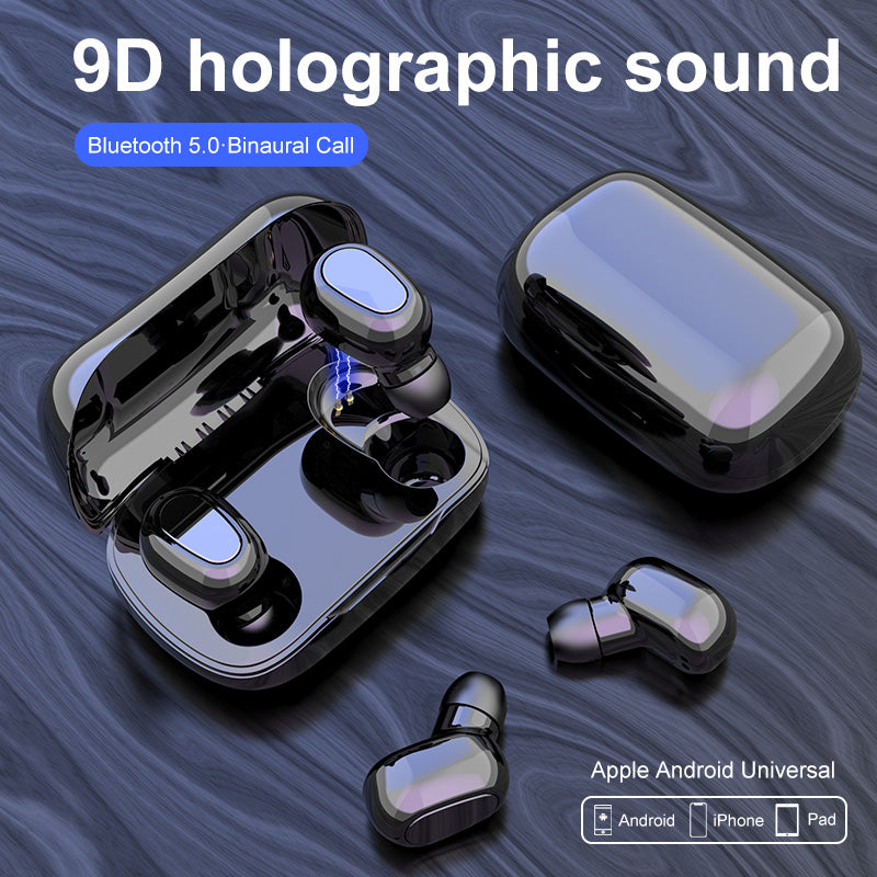L21 Bluetooth 5.0 TWS Super Bass Earphones - 4LAUNT.COM