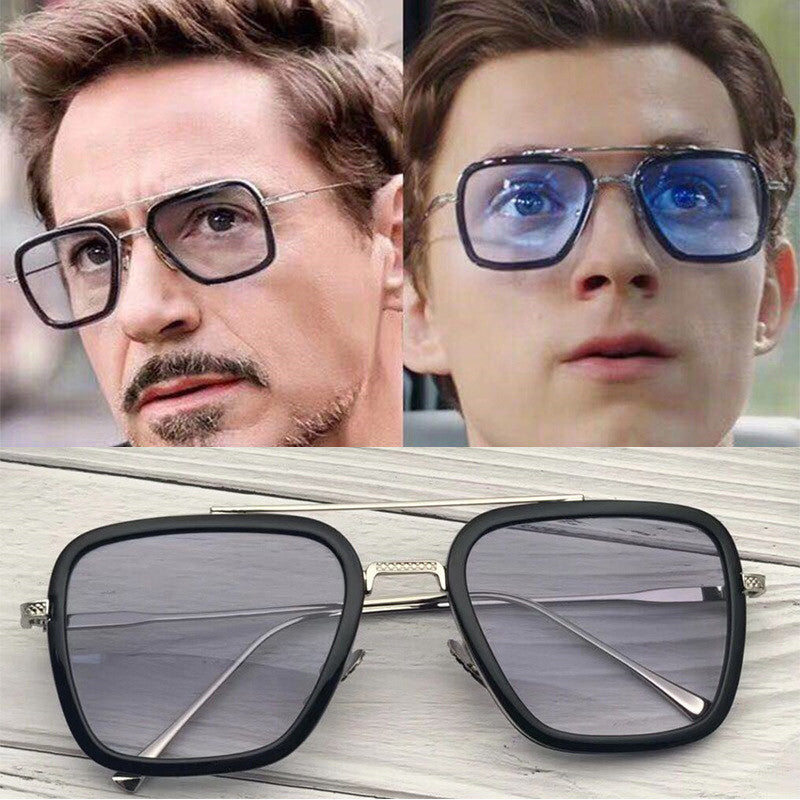 Designer Iron Man 3 Tony Stark Sun Glasses Gothic Rossi Coating - UV400 - 4LAUNT.COM