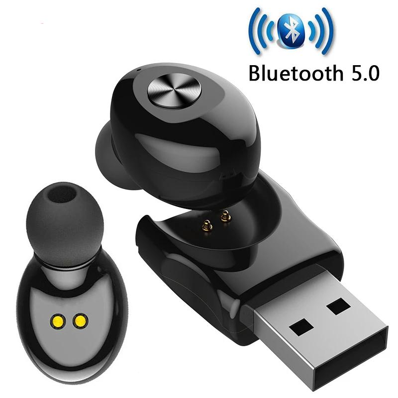 USB Charge Bluetooth 5.0 XG12/ HIFI Stereo Wireless Earphone - 4LAUNT.COM