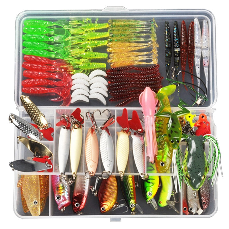 Mixed Fishing Lure Bait Tackle Kit