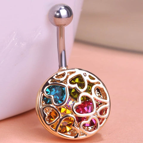 Navel Belly Button Rings - 4LAUNT.COM