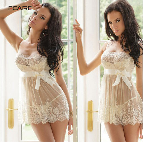 White Lace Lingerie dress