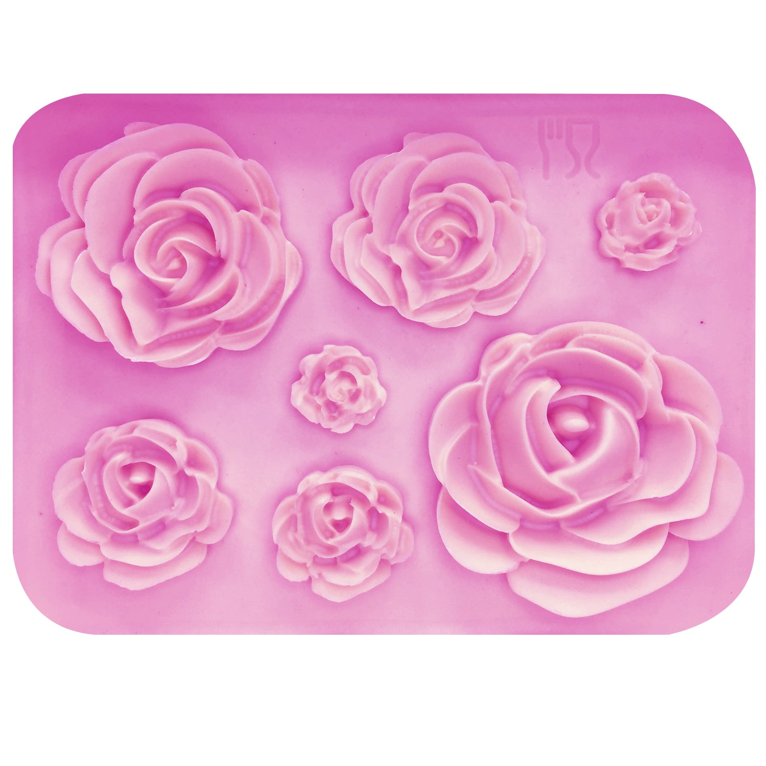 Rose Silicone Fondant Cake/Chocolate Mold