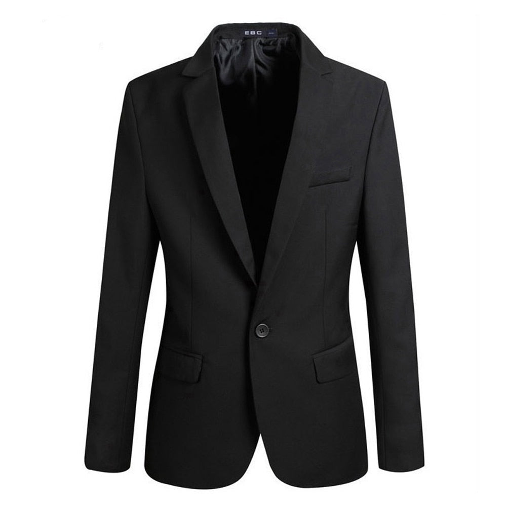 Men's Slim Fit Smart Casual/Formal Coat - 4LAUNT.COM