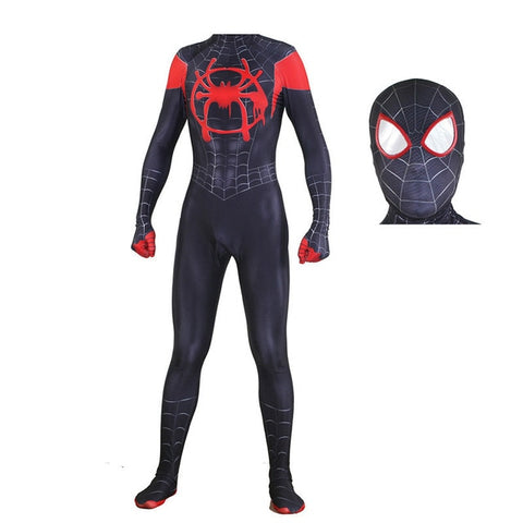 Spider Man: Into the Spider-Verse Miles Morales Costume - 4LAUNT.COM
